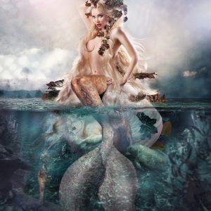 Jet Noir Mermaid